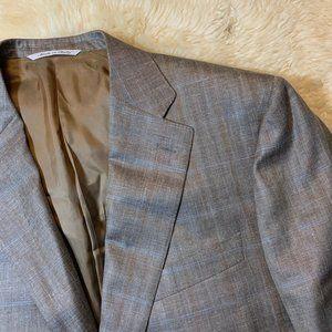 Current CANALI Siena Wool-Silk-Linen Blazer 46R